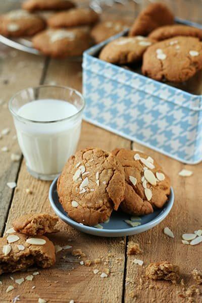 Cookies vegan cacahuete