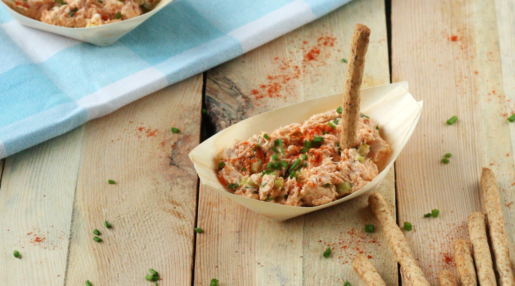 Rillette de saumon