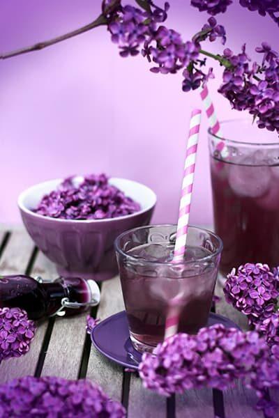 Sirop de lilas