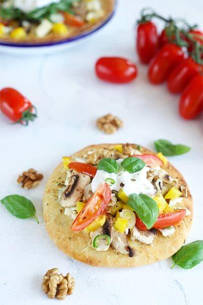 Pizza maison healthy