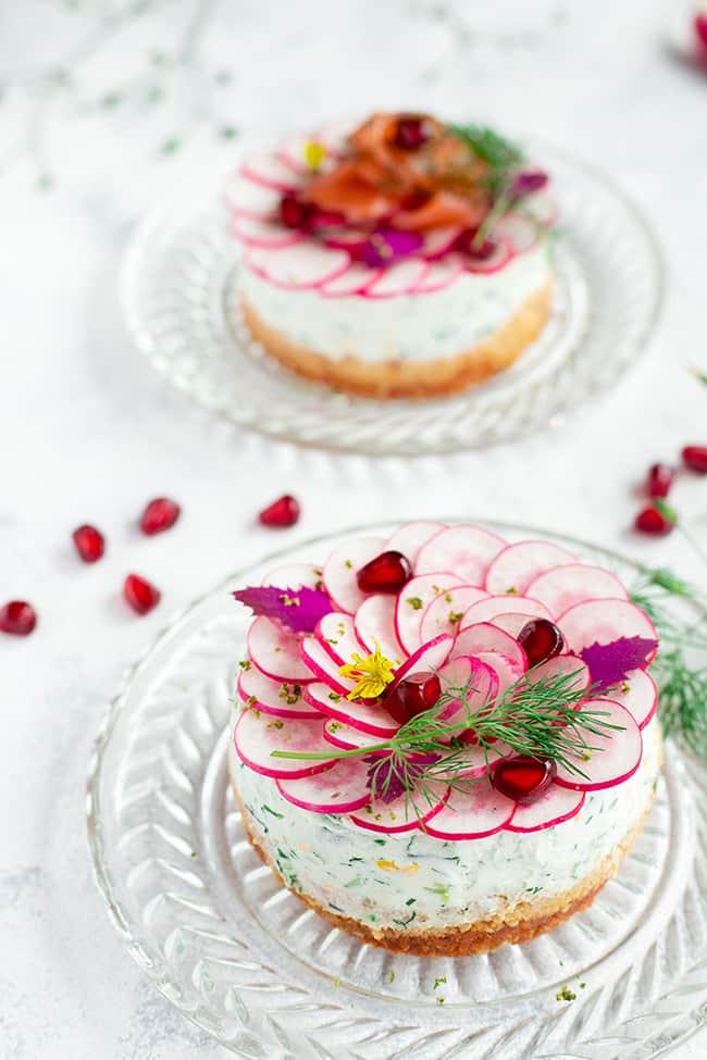 Cheesecake salé