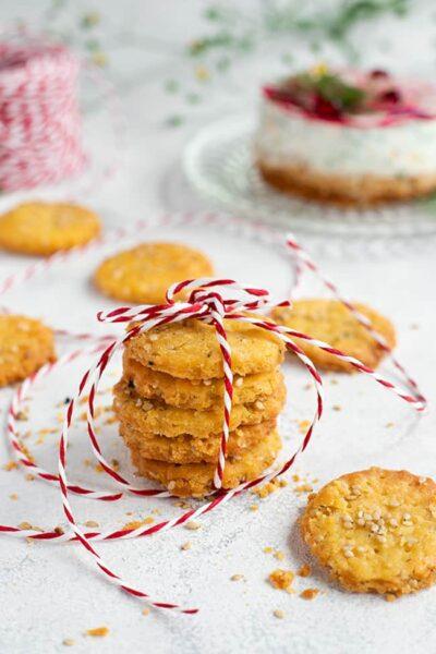 Crackers parmesan