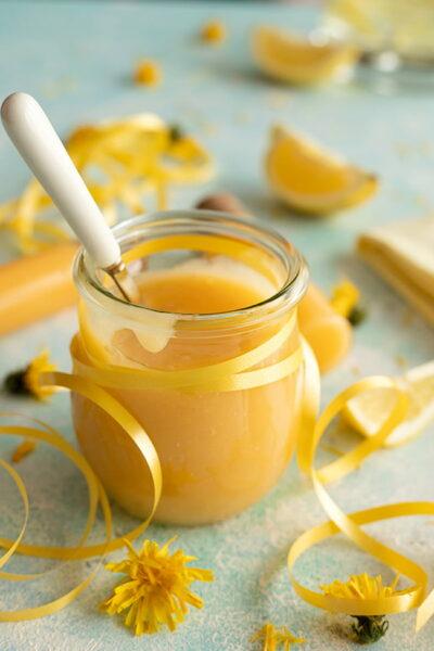 Crème citron sans beurre